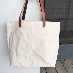 【NWT】Madewell Transport Canvas Tote